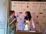 Buy my dress 2013- im Interview mit Top Model Marie Nasemann, die auch das Testimonial ist von Buy my dress 2013