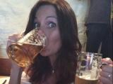 Bierprobe im Biermuseum München- Mhm lecker